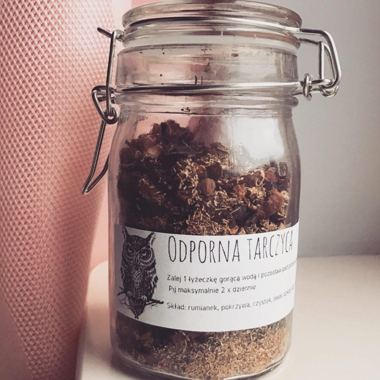 herbata ziola na zimno