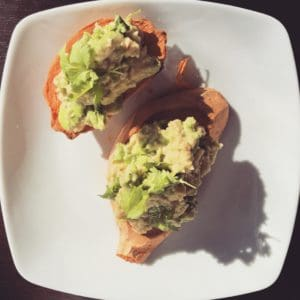 kanapki z batatów